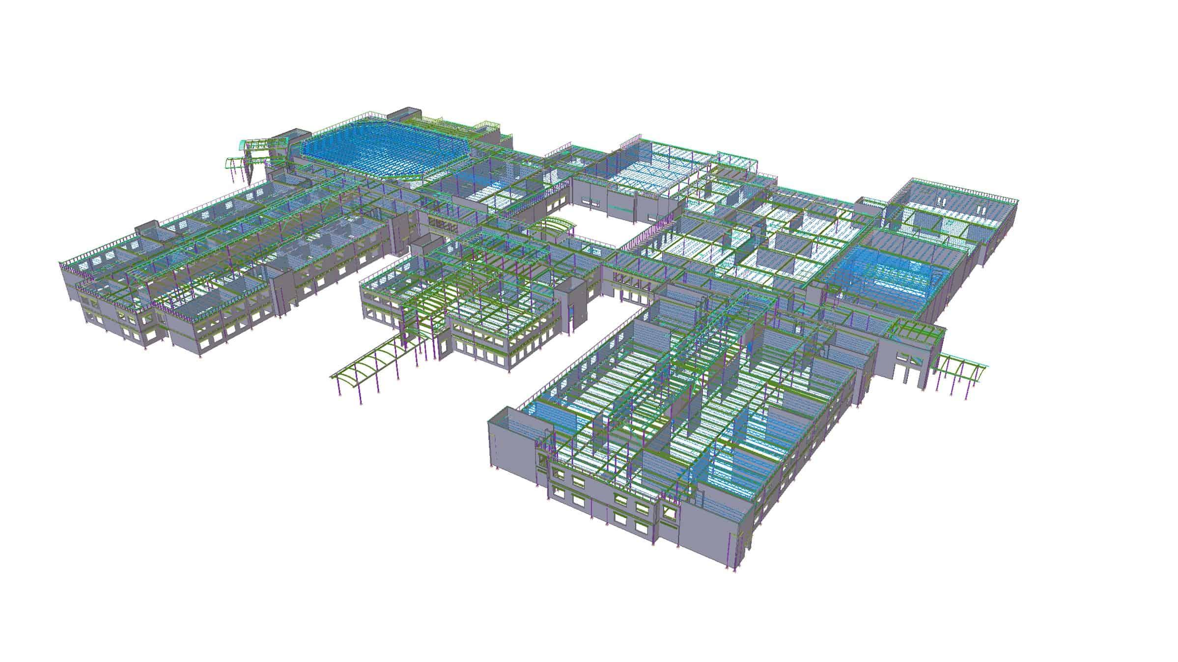 denmark - Steel concrete & rebar detailing, Tekla structural design & consulting. JMT Consultants