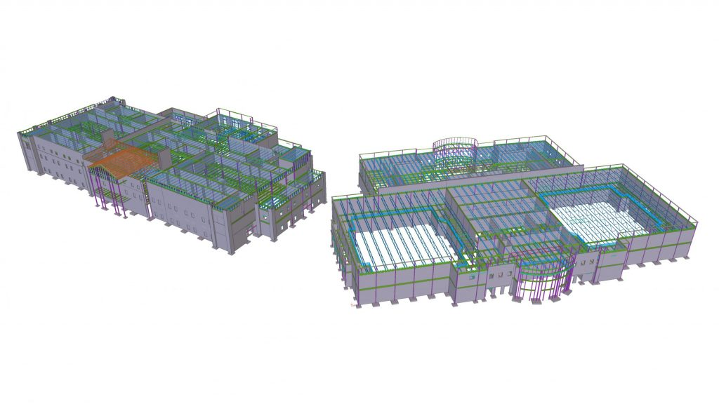 burford3 - Steel concrete & rebar detailing, Tekla structural design & consulting. JMT Consultants
