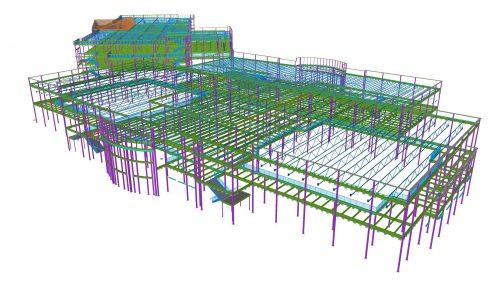 buford4 - Steel concrete & rebar detailing, Tekla structural design & consulting. JMT Consultants