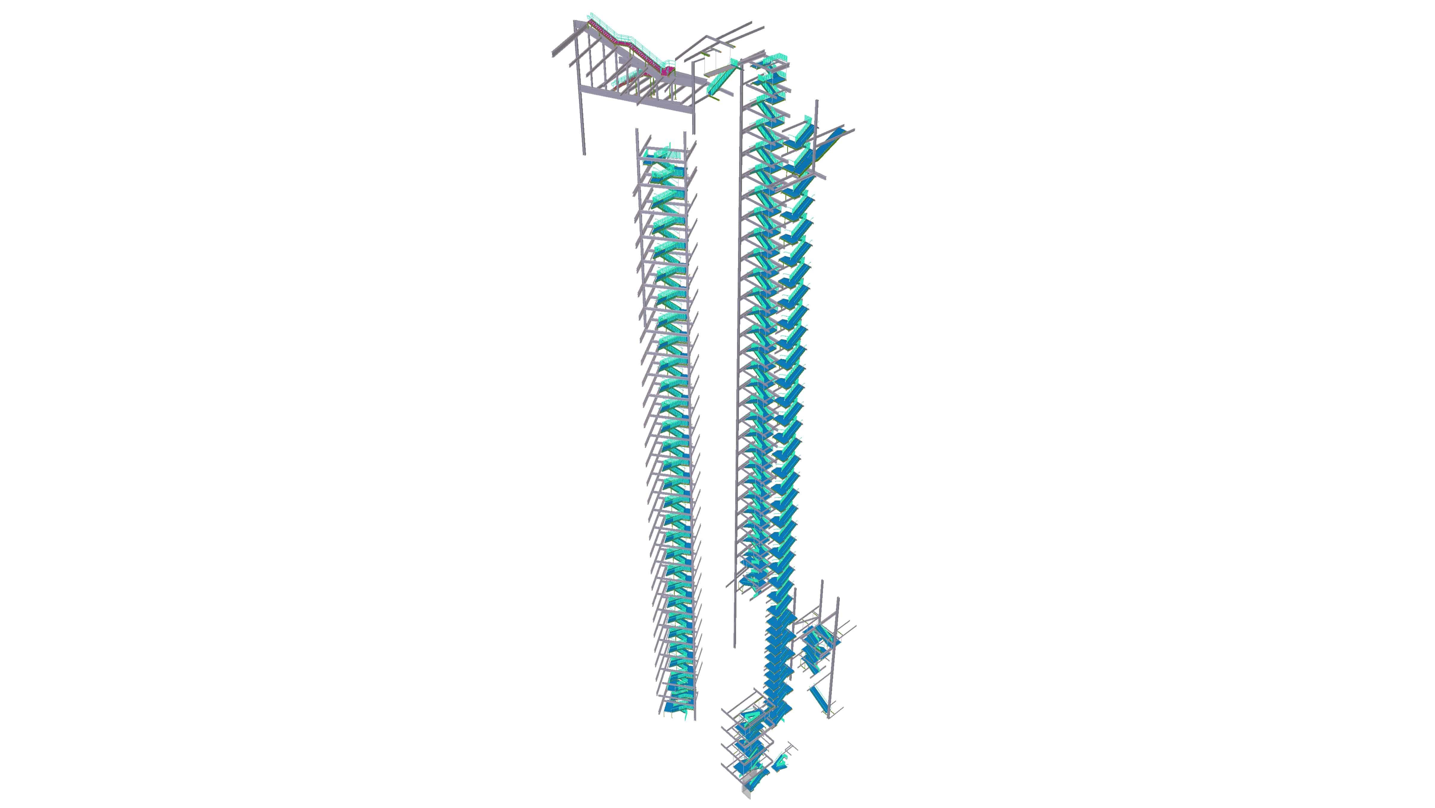 northwestern2 - Steel concrete & rebar detailing, Tekla structural design & consulting. JMT Consultants