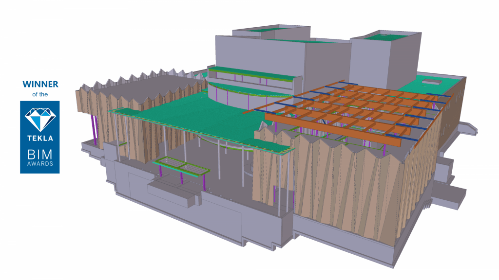 UofW4 - Steel concrete & rebar detailing, Tekla structural design & consulting. JMT Consultants