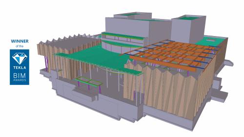 UofW4 - Steel concrete & rebar detailing, Tekla structural design & consulting. JMT Consultants