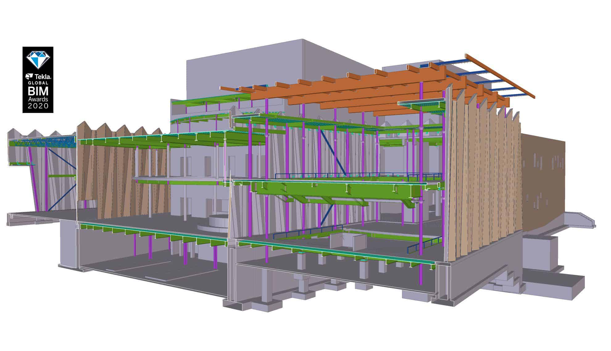snap_086-HD - Steel concrete & rebar detailing, Tekla structural design & consulting. JMT Consultants